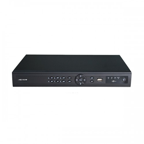 PN-E16 Xivue 16 Channel NVR 200Mbps Max Throughput - No HDD w/ Built-in 16-Port PoE