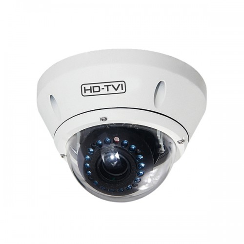 TC-2V-2812AF Xivue 2.8~12mm Motorized 1080p Outdoor IR Day/Night Dome HD-TVI/Analog Security Camera 12VDC