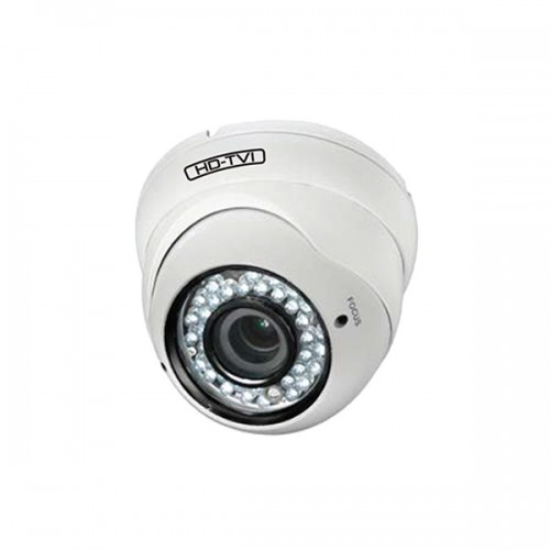 TCP-E2-21 Xivue 2.8~12mm Varifocal 1080p Outdoor IR Day/Night Eyeball HD-TVI/Analog Security Camera 12VDC